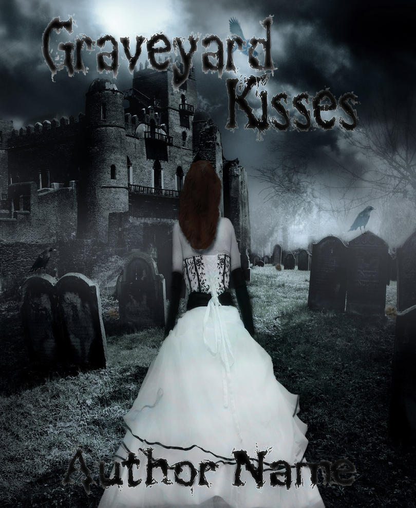 The Graveyard Book Cover Art ~ Graveyard kisses premade book cover by inferno sensus on