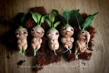OOAK Mandrake art doll. by dodoalbino