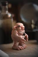 Glorlb , the homunculus by dodoalbino