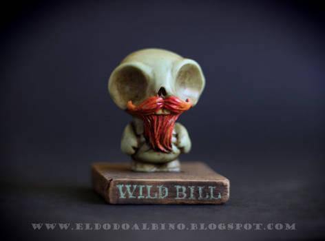 Wild Bill OOAK resin customized toy