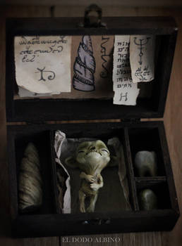 Alchemy ingredients ooak box