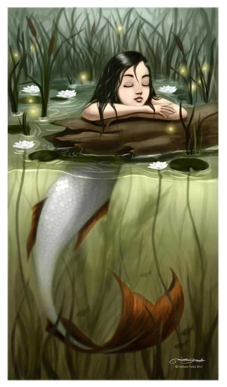 River Mermaid by melaniey