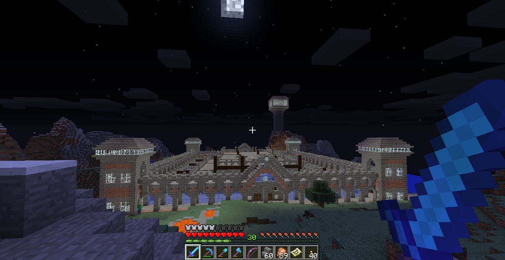 MineCraft Castle (in progress) by drigger