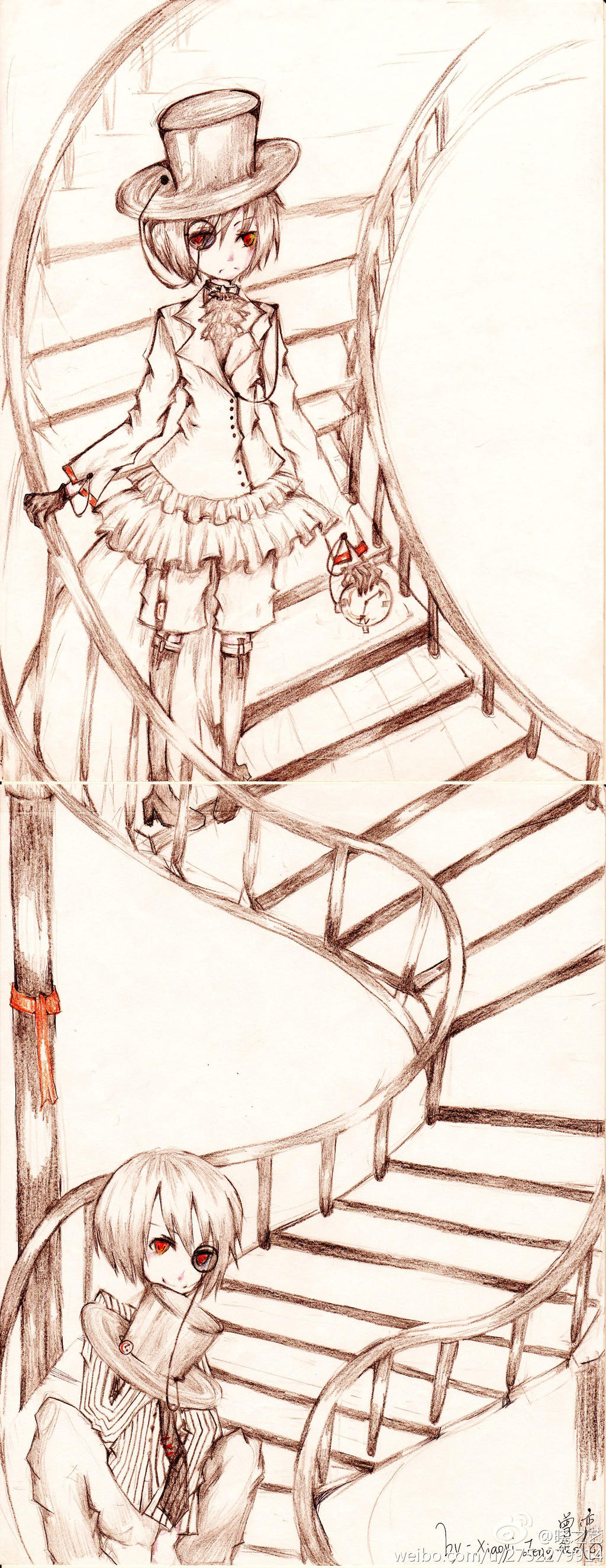 staircase by xiaoyizeng