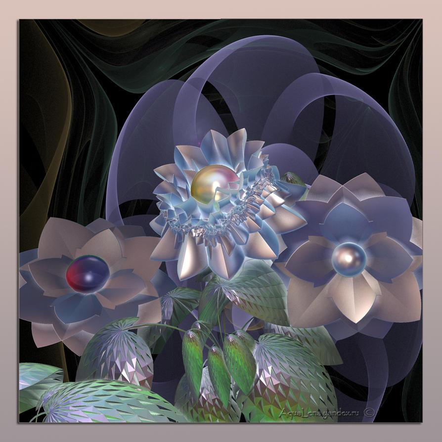 Floral  dreams by lady-AquaLena