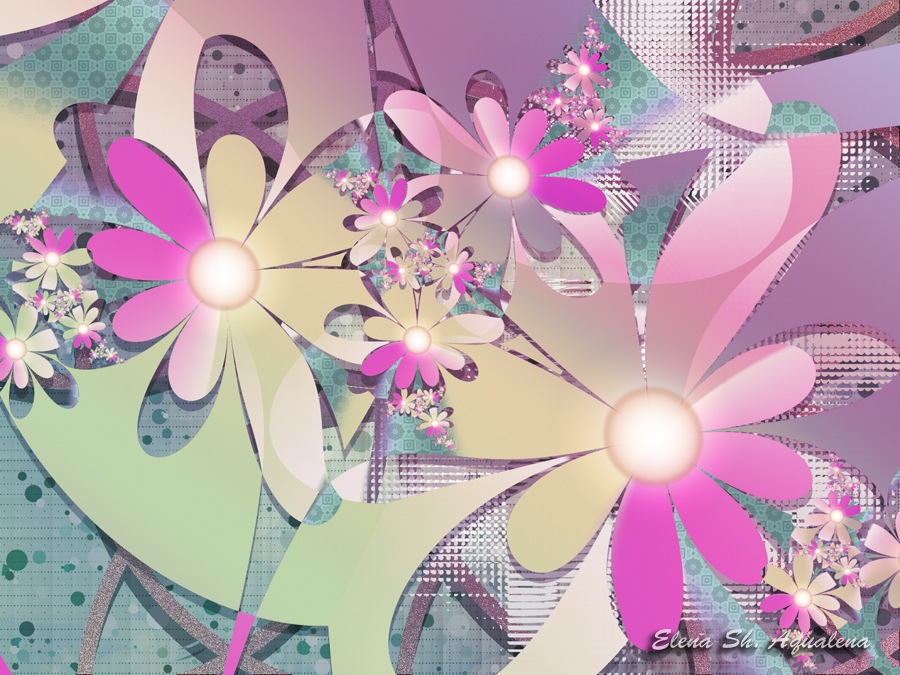 Flower composition by lady-AquaLena