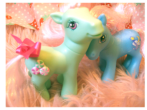 my two little pony kawaii by kawainess