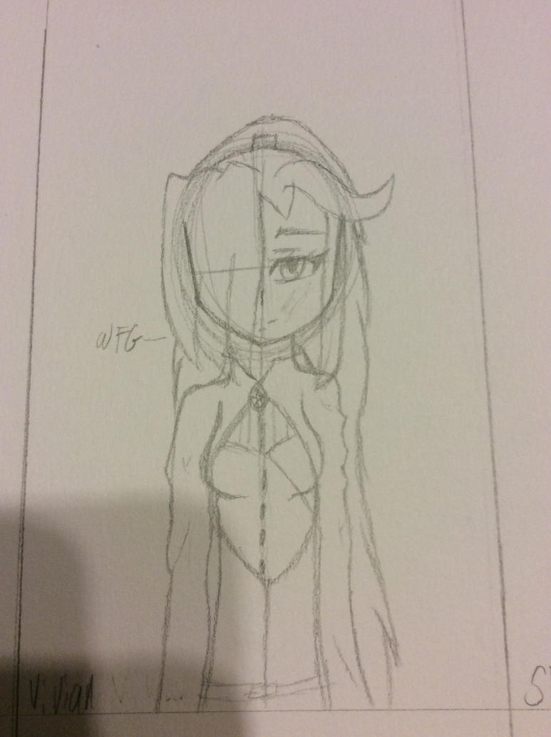(OC) Vivian W.I.P by WitheredFoxyGirl