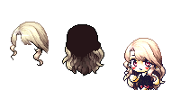 [Mixed Hair] Maplestory