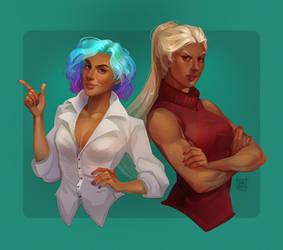 Commission | Hey, Adora