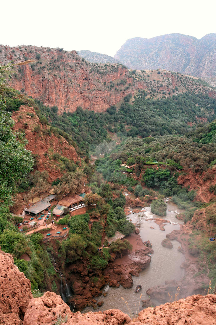 Cascade d'Ouzoud 1 - Maroc by Pascal-Fayard