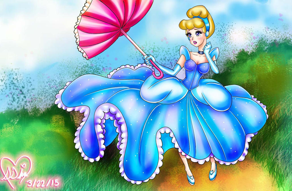 Cinderella in the wind. by trashxinsanity