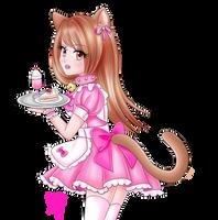 Cat maid by trashxinsanity