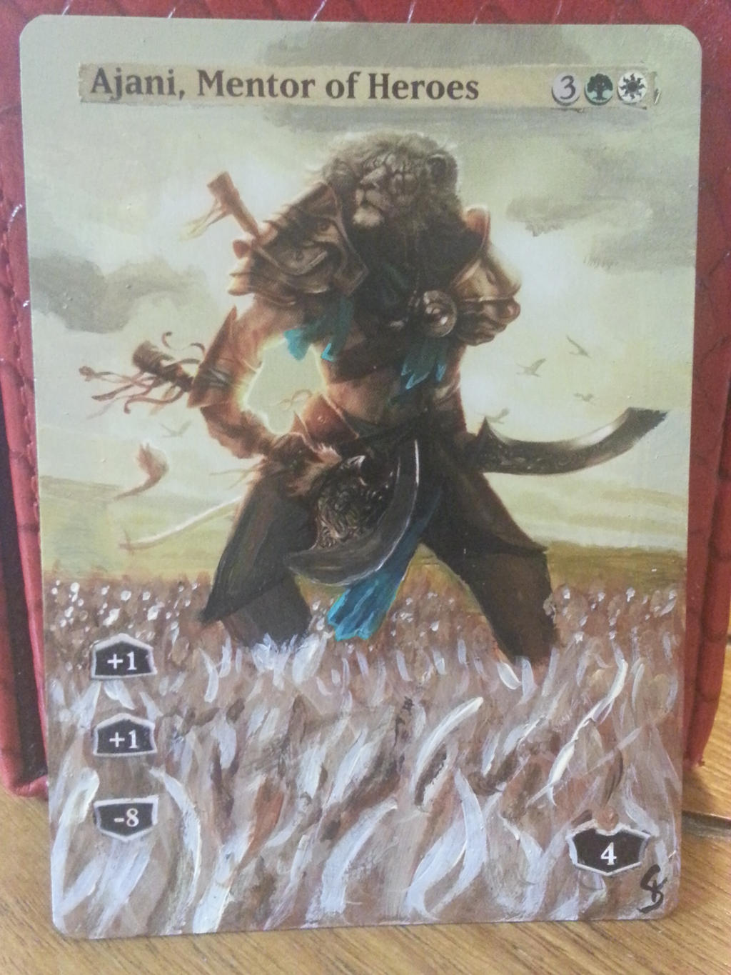 Ajani, Mentor of Heroes alter by Kaledra on DeviantArt