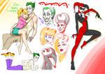 Joker'n'Harl - sketches