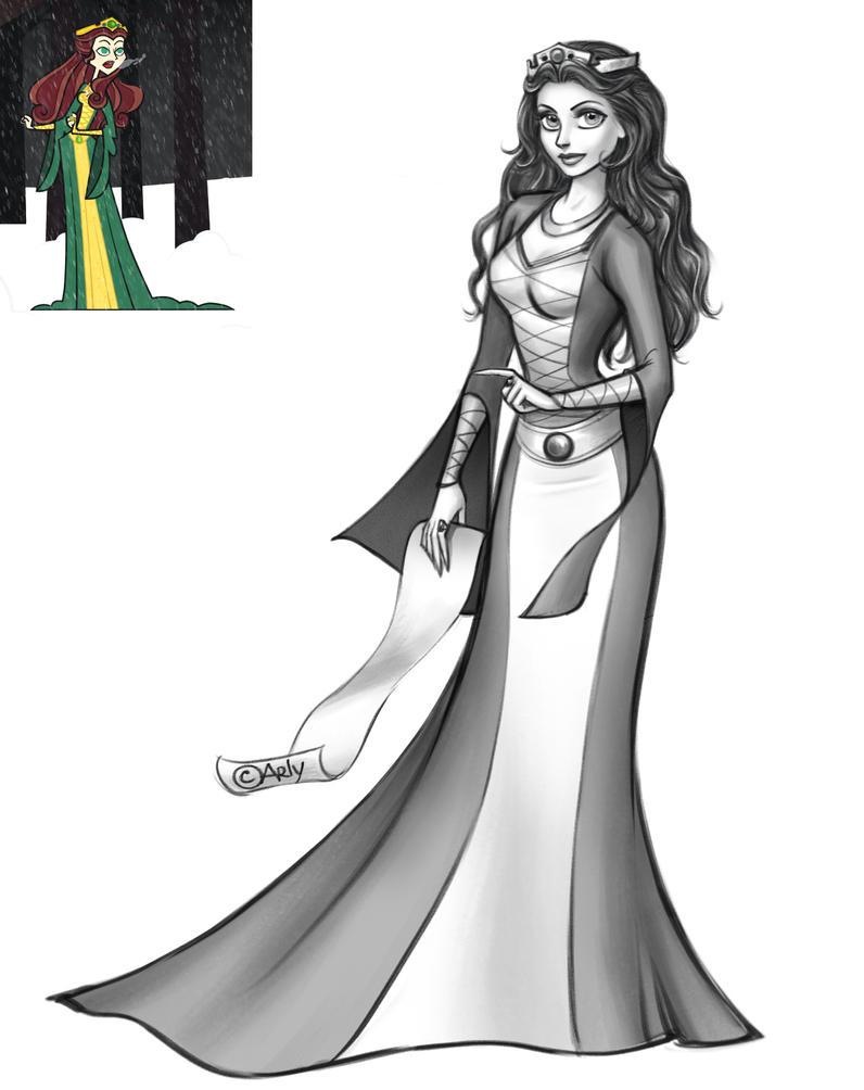 Commission: Elizabeth by artlekina
