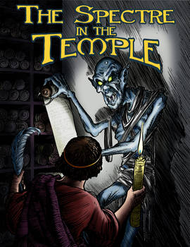 The Spectre in the Temple: Cover by LoneAnimator