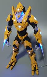 [Paper craft] Starcraft 2 Zealot - Kaldalis 2