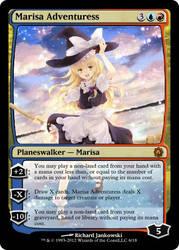 Planeswalker: Marisa Adventuress by KorosukeDoom149