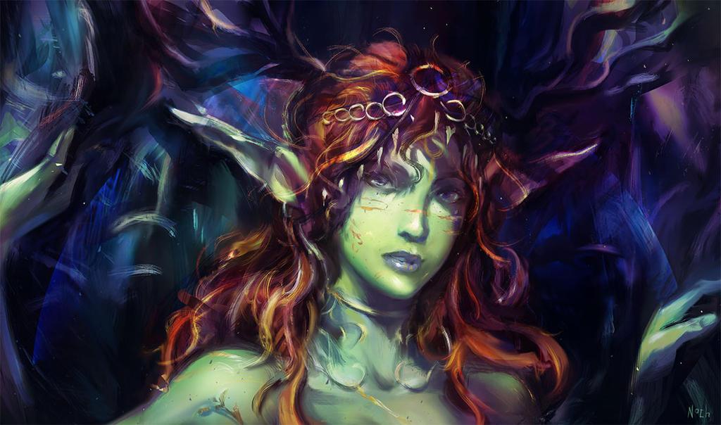 Greengirl by Anocha