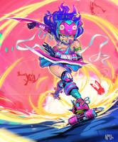 CDC Rollerderby! by Anocha