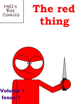 The red thing (Cover)