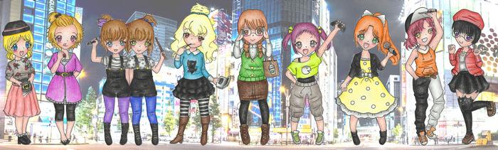 Akihabara Fashion by Minjuu