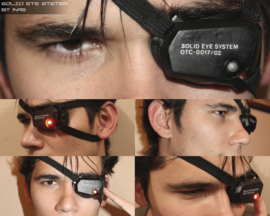 Solid Eye System Demo by RazielGardel