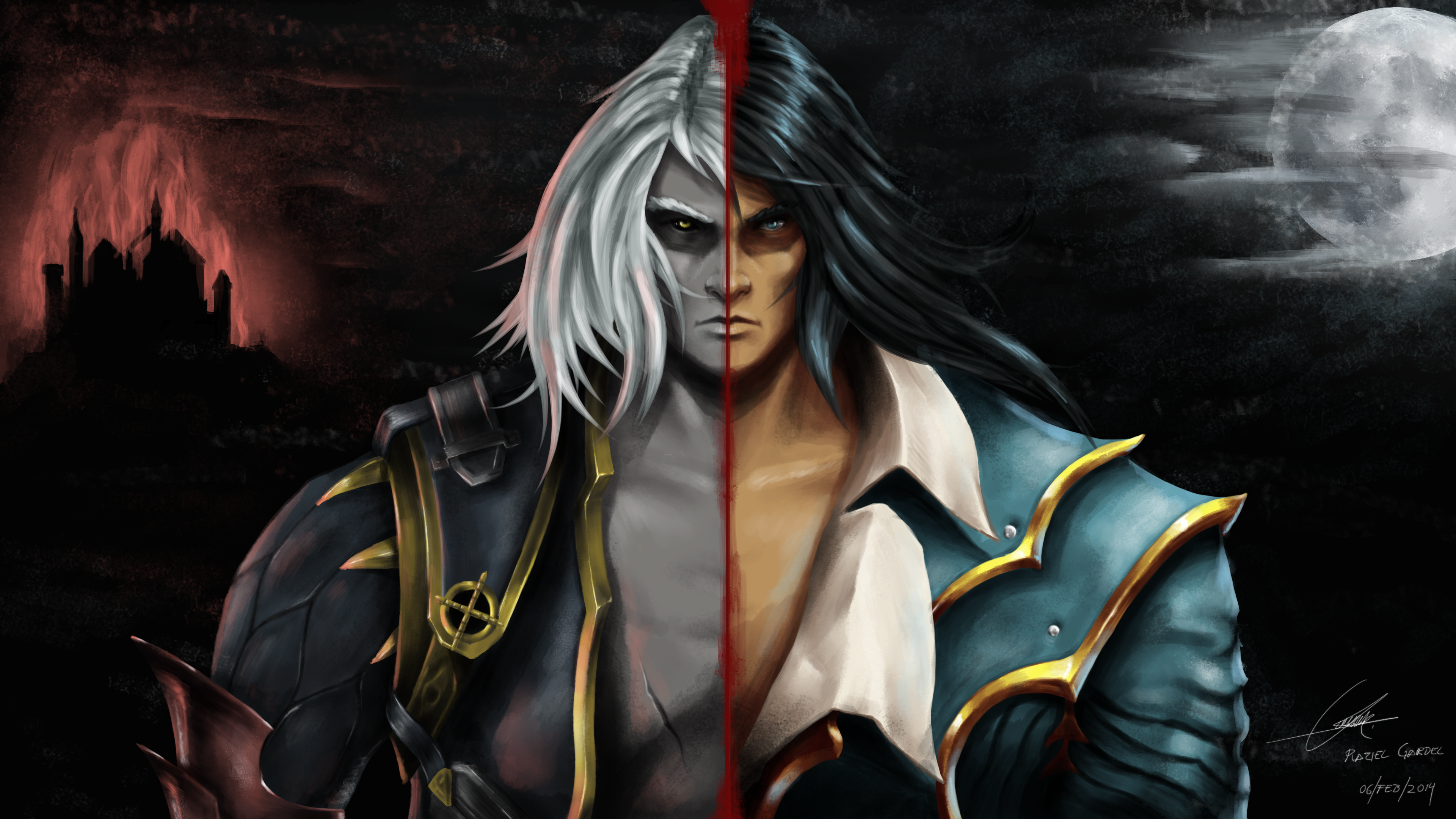 Castlevania: Lords of Shadow 2 Alucard rendition by ...