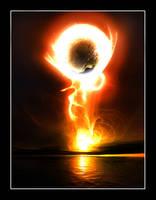 Blaze of Aurora by chris1990