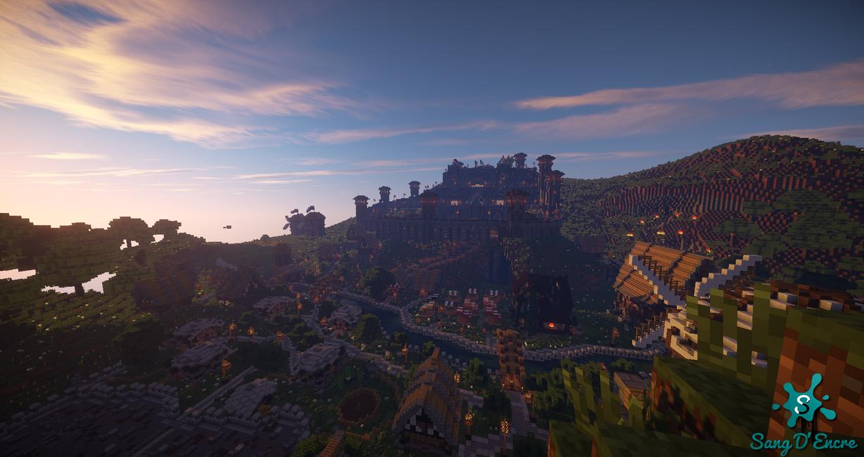 Fallen Kingdoms' castle by TSangDEncre