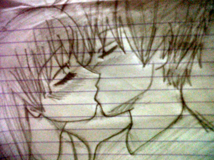 Two people kissing by KiNgDoM-hEaRtS-0-2 on DeviantArt
