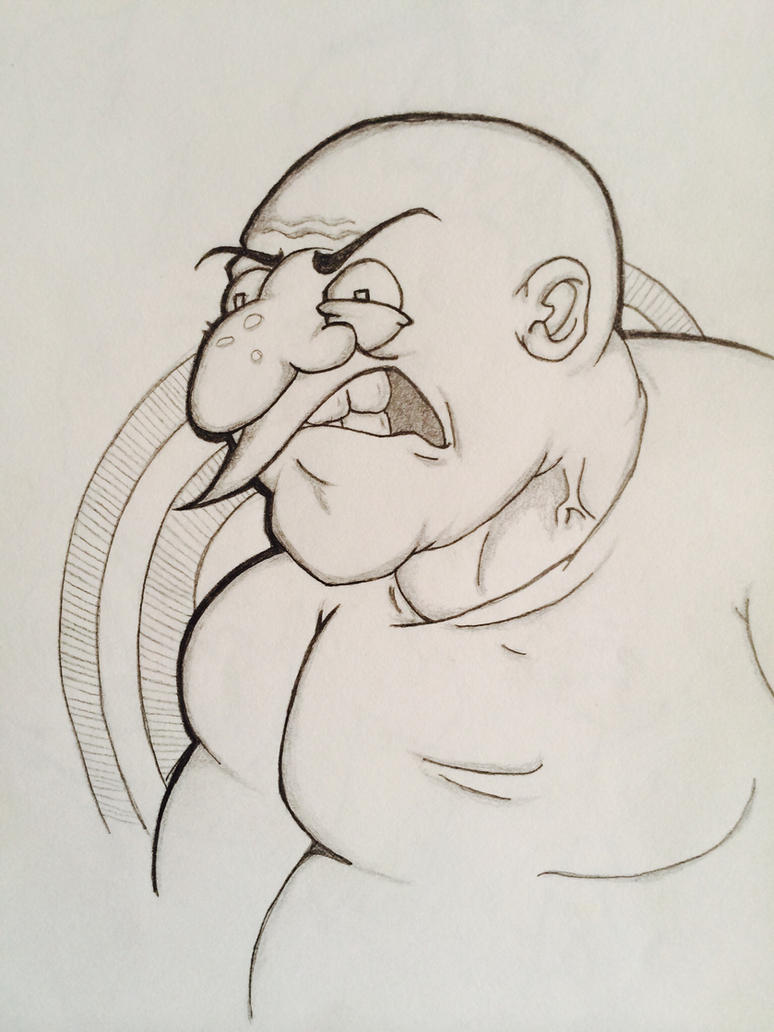 Fat Angry Man by Jarritosman