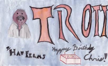 Trott Birthday Drawing by DeadlockRiddles
