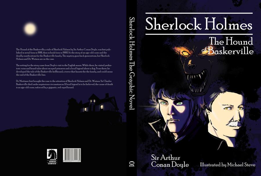 Sherlock Holmes Book Cover By Miquelon Steve On DeviantArt