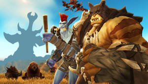 Rexxar and Zekhan: Exploring Kalimdor!