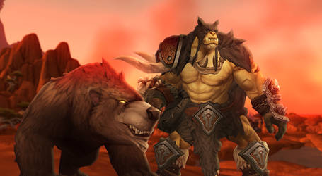 Rexxar the Champion of the Horde