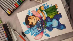 Lilo  Sitch from Disney.