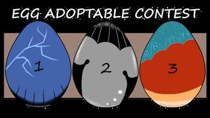 Dragon Egg Adoptable Contest (79 Entries So Far!) by eLucive