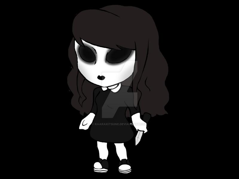 Jane the killer chibi by raarakitsune on deviantart - Jane the killer anime ...