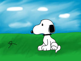 Snoopy by Lunaranimefreak