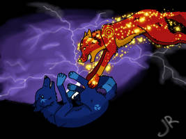 Fight by Lunaranimefreak