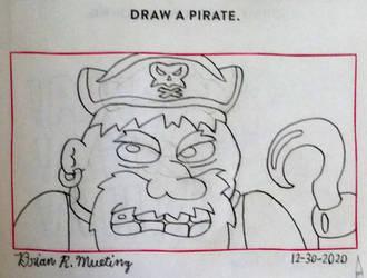 Draw a pirate.