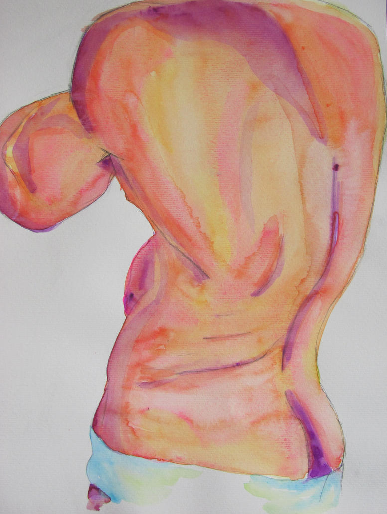 Colorful Back by AnxietySlave