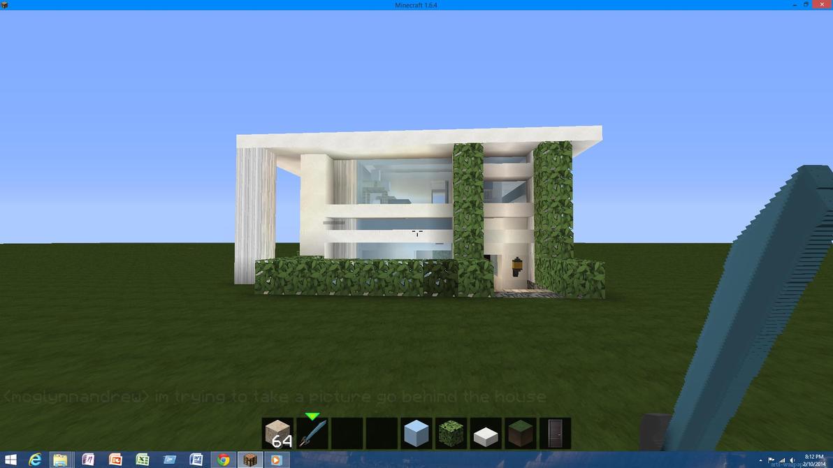 Modern Minecraft House 1 By Rywar480014806 On Deviantart