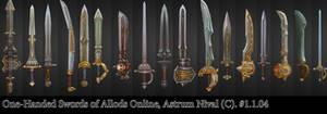 One-Handed Swords - Allods