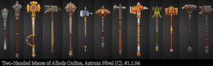 Two-Handed Maces - Allods