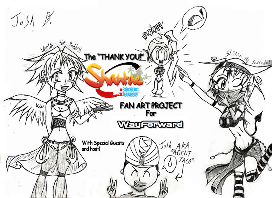 THANK YOU WAYFORWARD fan art project cover. by sonic2000121