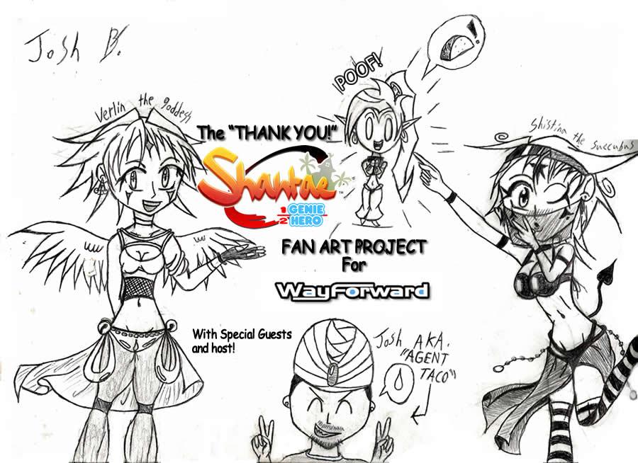 THANK YOU WAYFORWARD fan art project cover. by sonic2000121