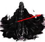 Darth Vader in ink